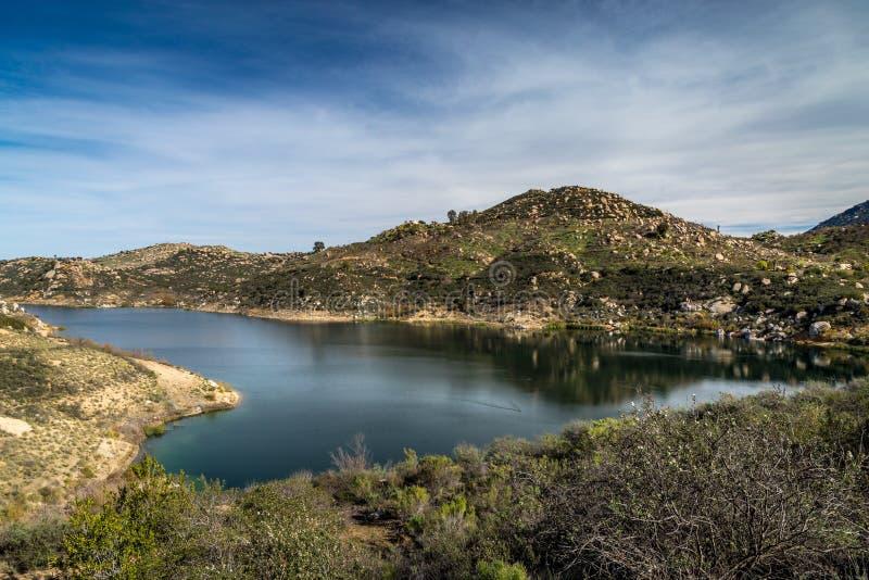 Bello lago Ramona fotografia stock libera da diritti