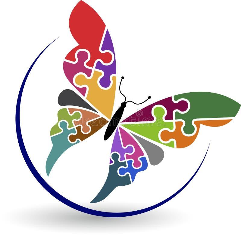 Bello logo illustrazione vettoriale
