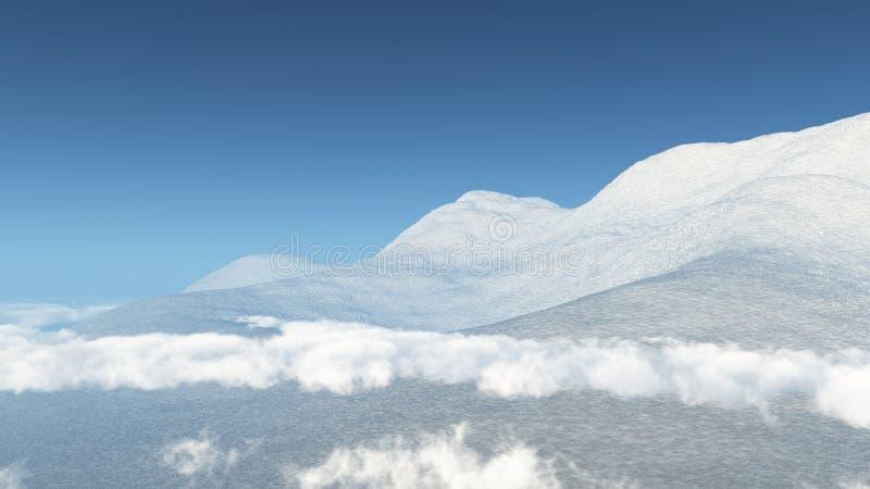 Bello Mauntains illustrazione vettoriale