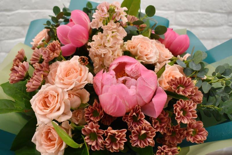 Bello mazzo adorabile per il negozio di fiore immagine stock