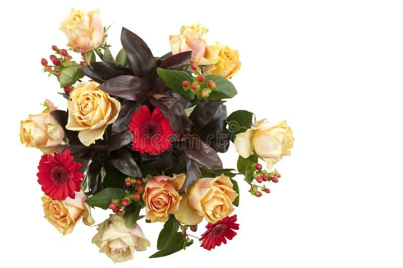 Bello mazzo di fiori fotografia stock libera da diritti
