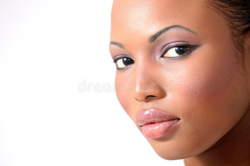 Bello modello di modo - giovane donna fotografia stock