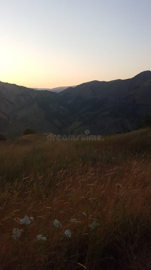 Bello Mountain View fotografia stock libera da diritti