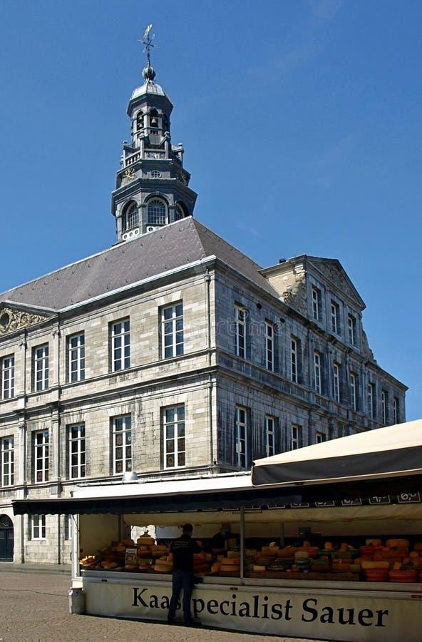 Bello municipio di Maastricht fotografia stock libera da diritti