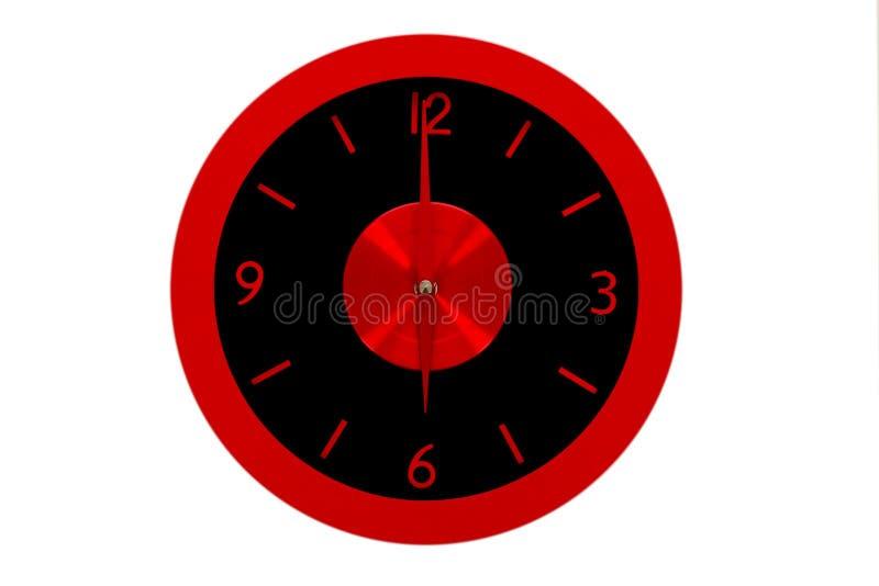 Bello orologio sulla parete immagini stock libere da diritti