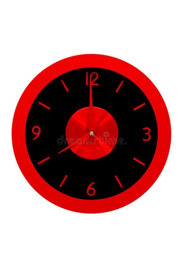 Bello orologio sulla parete immagine stock