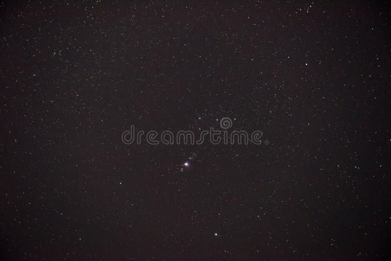 Bello paesaggio celestiale fotografia stock