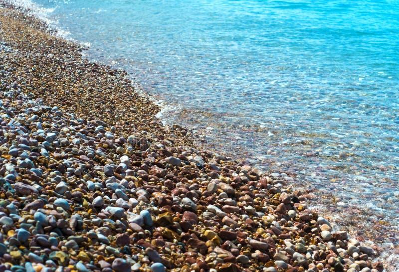 Bello paesaggio del mare Composizione della natura fotografia stock libera da diritti