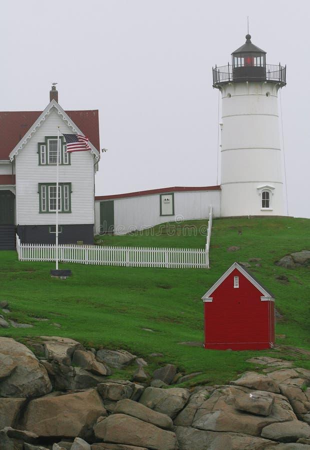 Bello paesaggio della Maine fotografia stock