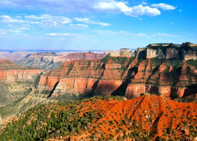 Bello paesaggio di grande canyon fotografia stock
