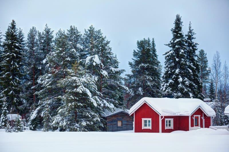 Bello paesaggio finlandese eccellente fotografia stock