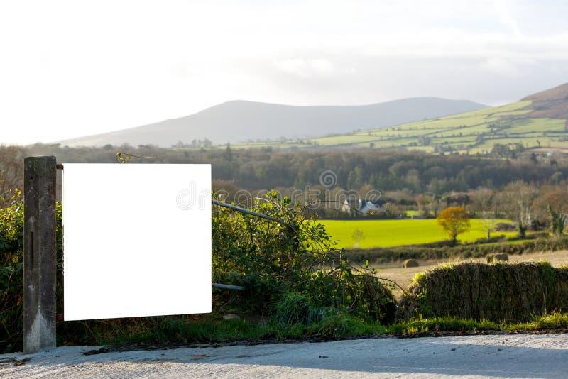 Bello paesaggio irlandese immagine stock