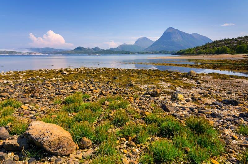 Bello paesaggio norvegese immagine stock