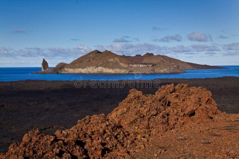 Bello paesaggio scenico dell'isola di Bartlome dentro immagini stock libere da diritti