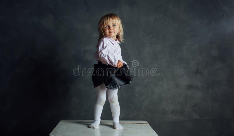 Bello piccolo ballerino della ballerina fotografie stock