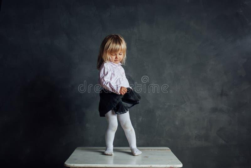 Bello piccolo ballerino della ballerina immagini stock