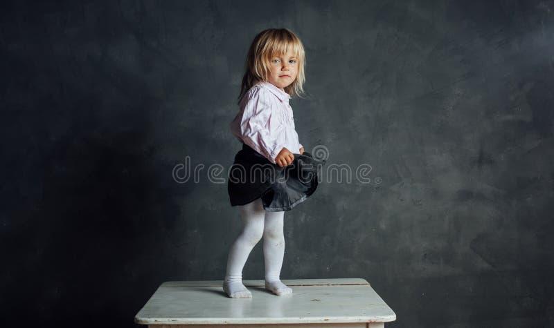 Bello piccolo ballerino della ballerina immagine stock libera da diritti