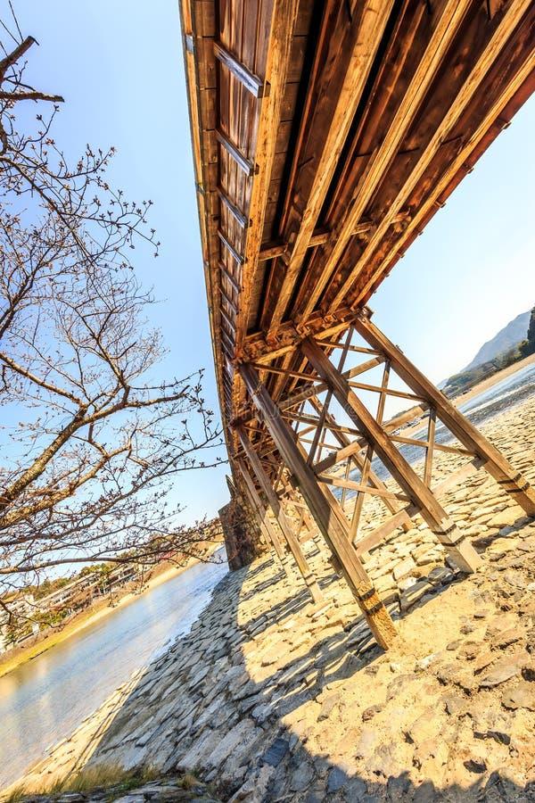 Bello ponte in primavera fotografia stock libera da diritti