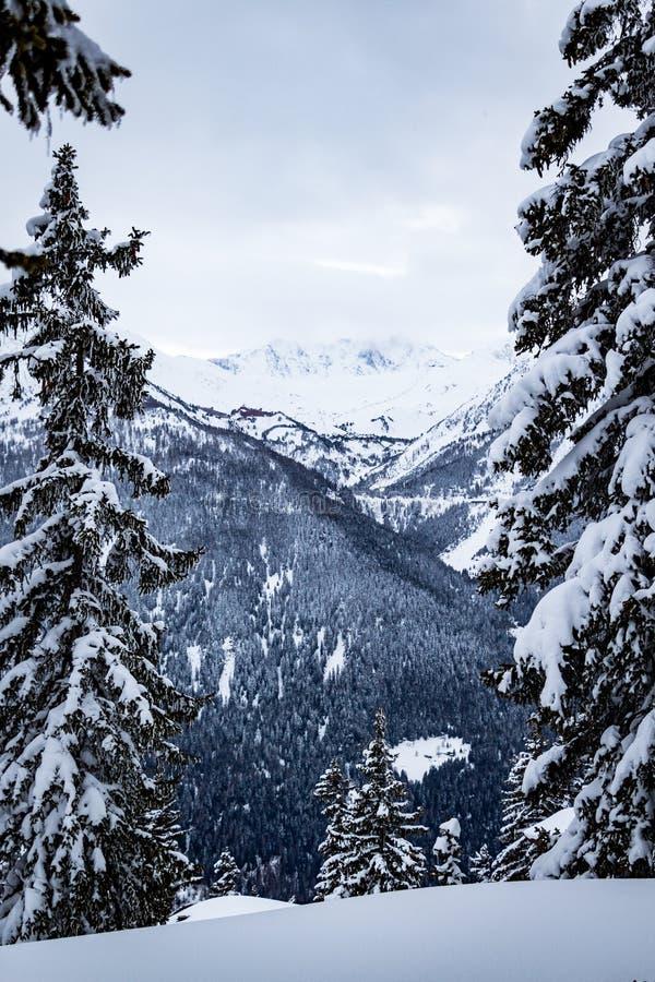 Bello posto nelle alpi fotografia stock