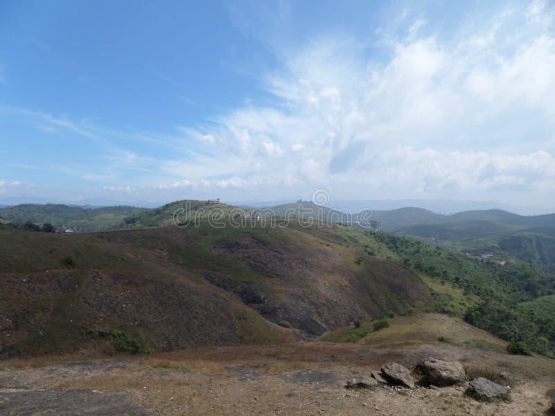 Bello posto Wagamon del Kerala immagini stock