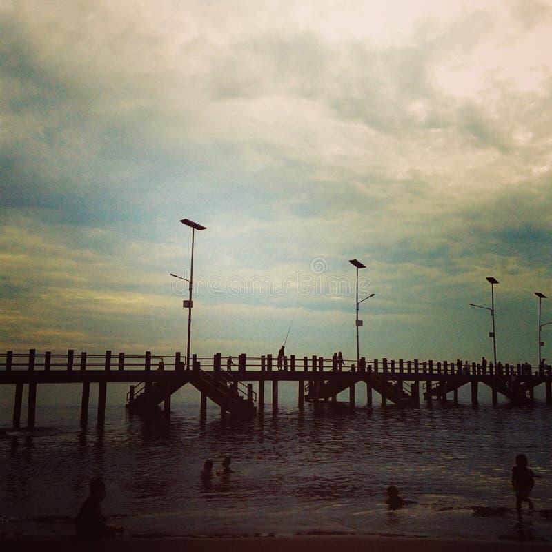 bello pringgabaya della spiaggia fotografia stock