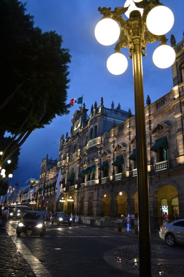 Bello Puebla fotografia de stock royalty free