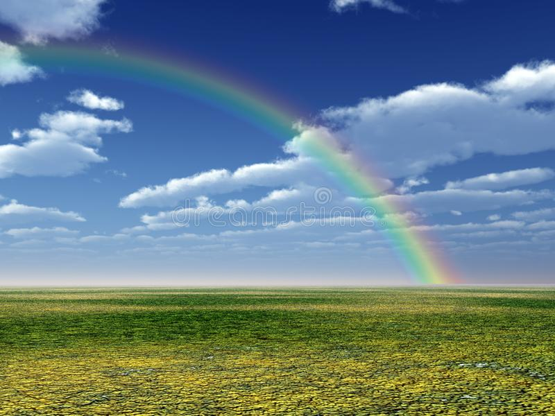 Bello arcobaleno fotografie stock libere da diritti