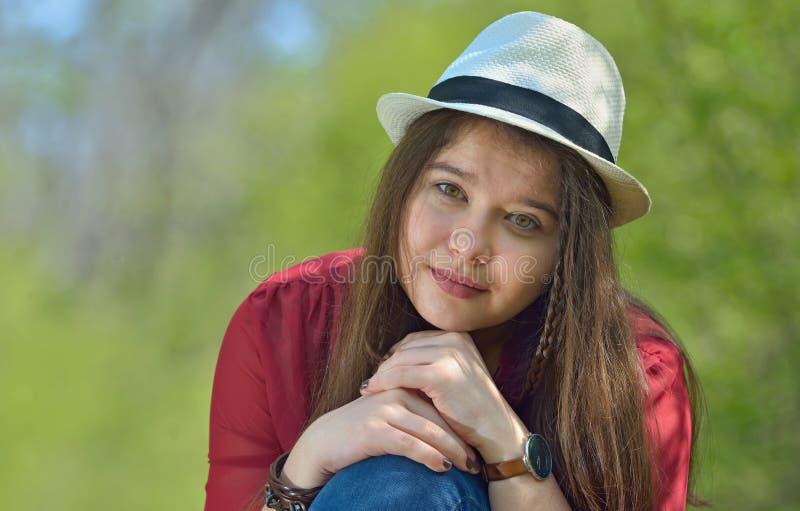 Bello ritratto della ragazza fotografia stock libera da diritti
