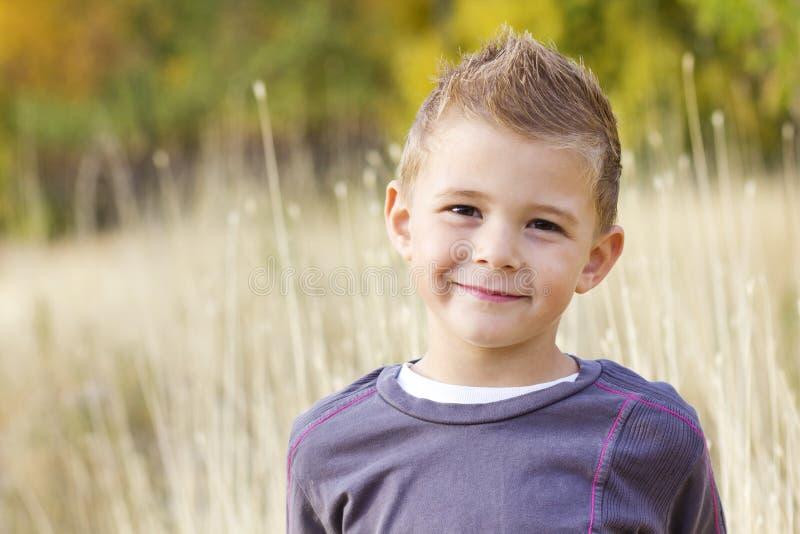 Bello ritratto sorridente di Little Boy immagine stock