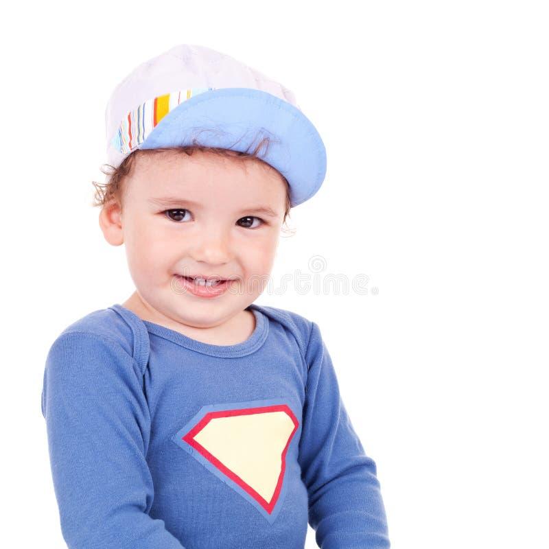 Bello sorridere del piccolo bambino immagini stock