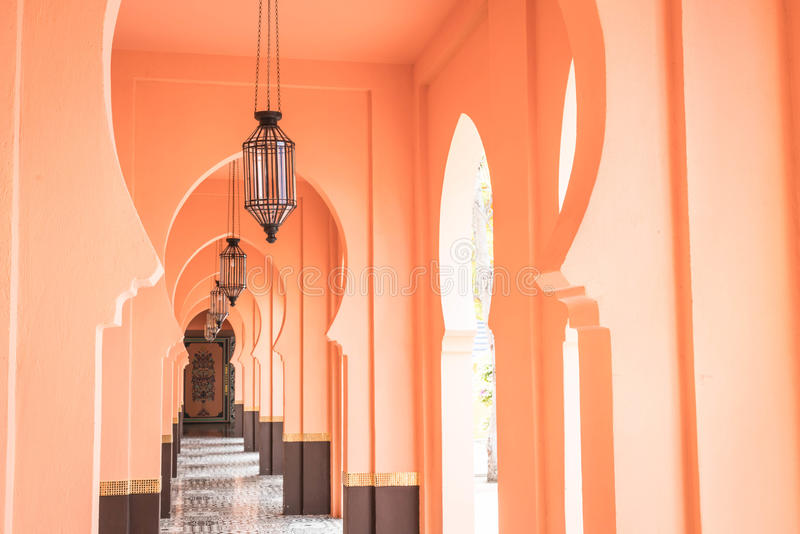 bello stile del Marocco di architettura fotografie stock