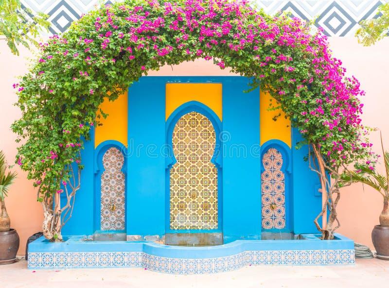 bello stile del Marocco di architettura fotografia stock libera da diritti
