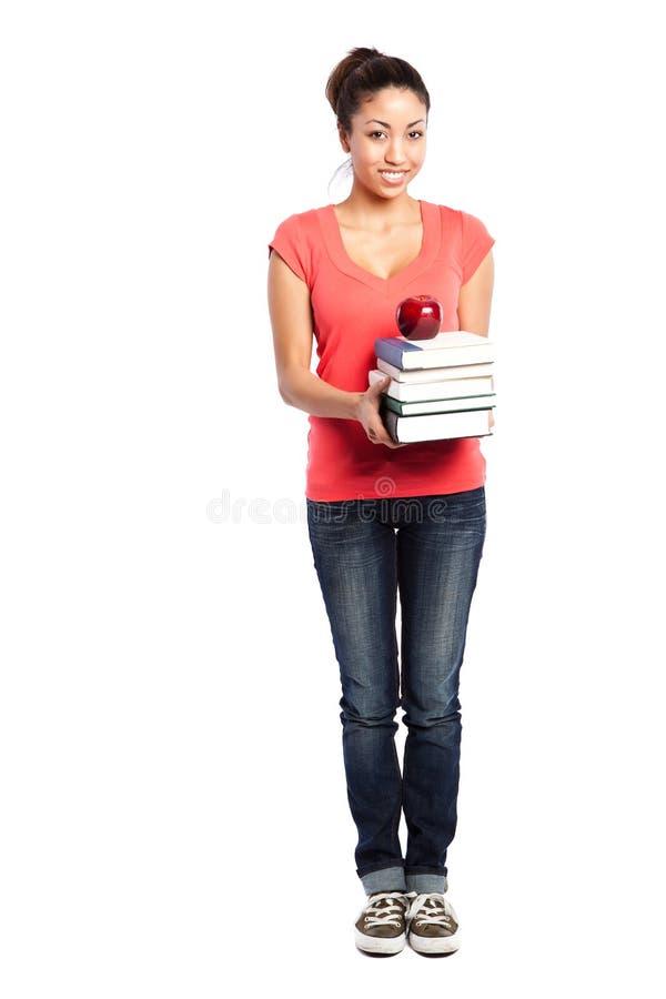 Bello studente di college immagini stock libere da diritti