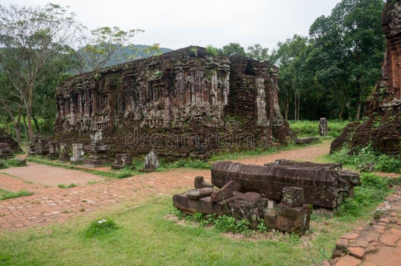 Bello tempio al mio santuario del figlio fotografie stock libere da diritti