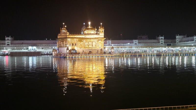 Bello tempio dorato fotografia stock libera da diritti