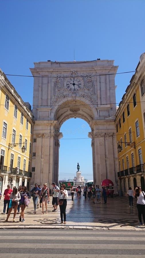 Bello tempo nel Portogallo fotografie stock libere da diritti
