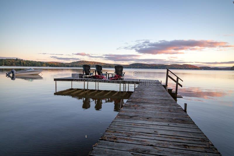 Bello tramonto di estate fotografie stock libere da diritti