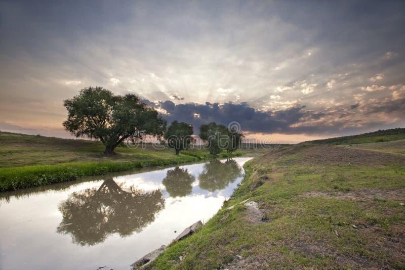 Download Bello tramonto di estate immagine stock. Immagine di ecologia - 30831697