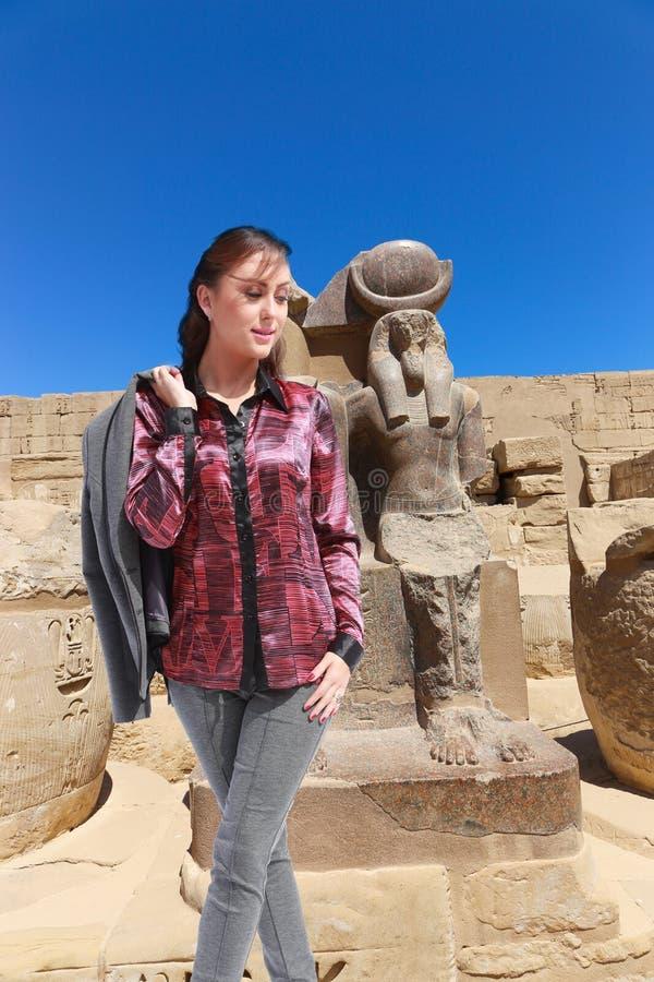 Bello viaggiatore - Egitto fotografia stock