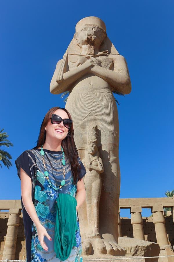 Bello viaggiatore - Egitto fotografie stock