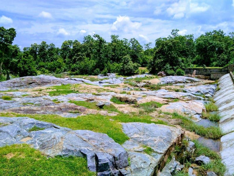 Bello villaggio indiano fotografia stock libera da diritti