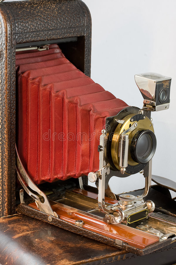 Bellows camera royalty free stock photo