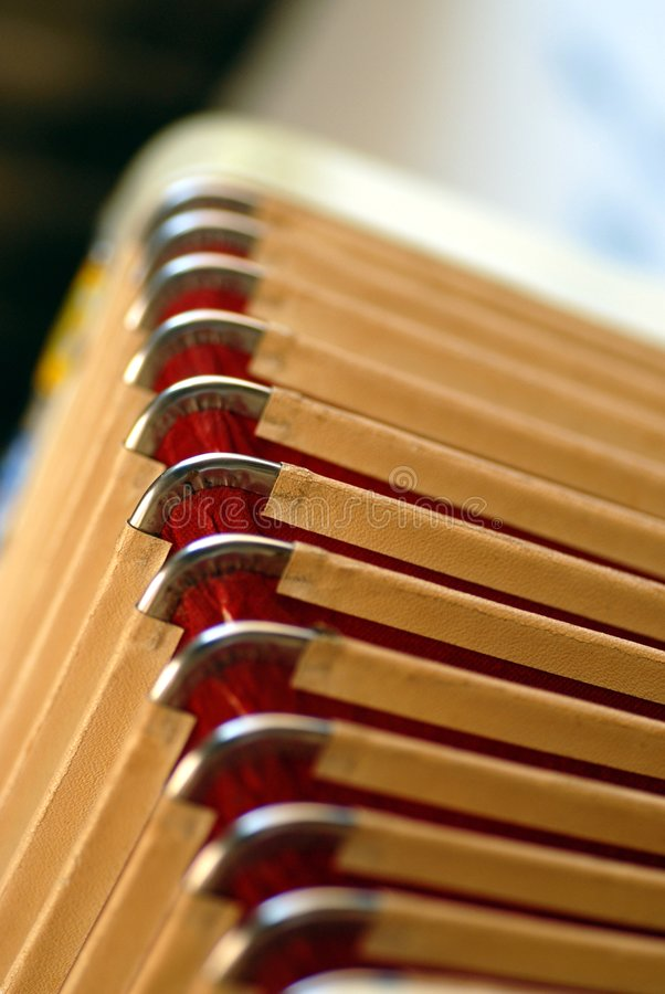 Free Bellows Of Diatonic Accordion Royalty Free Stock Images - 3325249