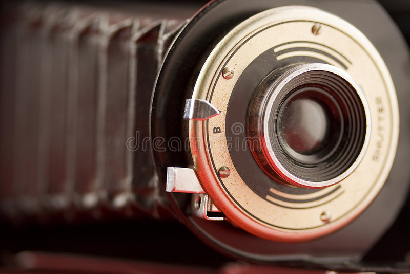 bellows starą kamerę obrazy stock