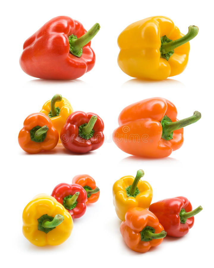 Download Bellpepper collection stock photo. Image of nobody, vegetarian - 20086322
