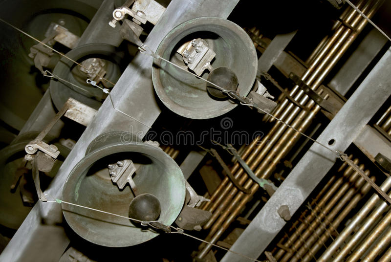 Download Bells stock photo. Image of chimes, iron, instrument - 11321956