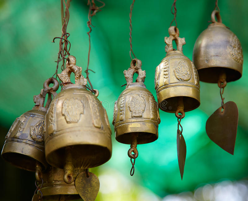 Download Bells stock image. Image of light, object, buddhist, religion - 23846747