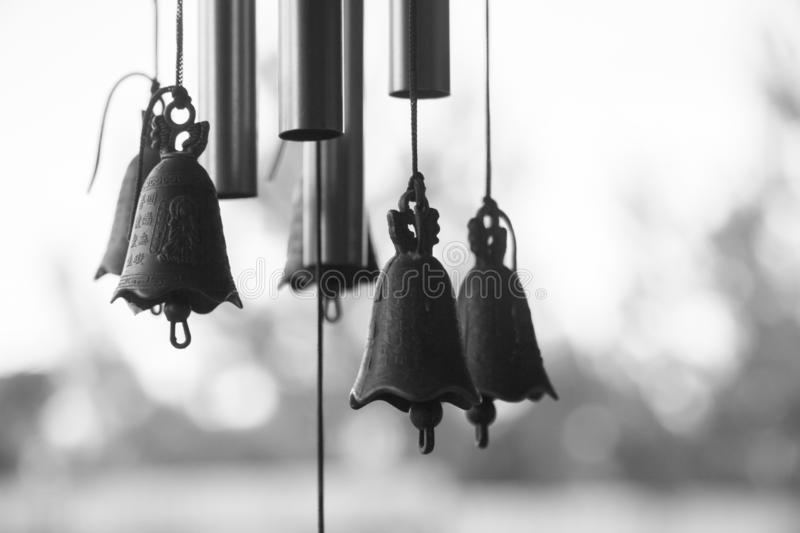 The bells in the calm weather, the silence royalty free stock photos