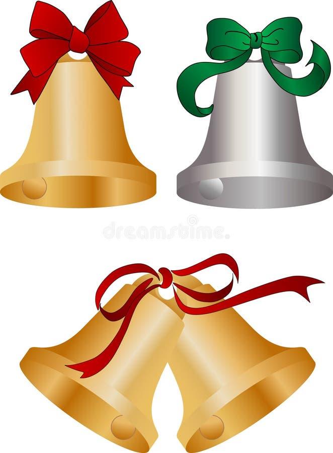 bells christmas бесплатная иллюстрация