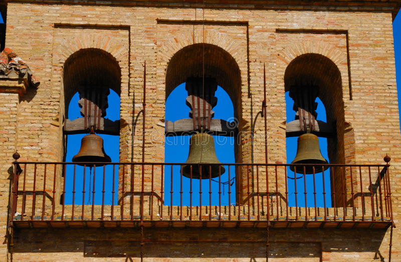 Download Bells church stock image. Image of andalusian, historic - 23843761